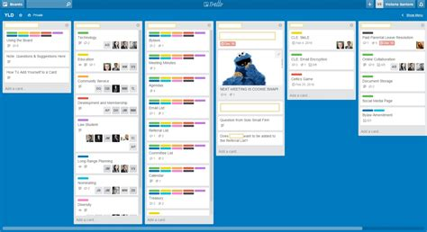 A Trello Experiment: Pinterest for Business?   Law
