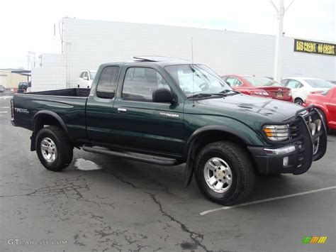 2000 Toyota Tacoma Prerunner 2000 Imperial Jade Green Mica Toyota Tacoma V6 Prerunner
