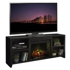legends furniture loft 76 quot tv stand with electric