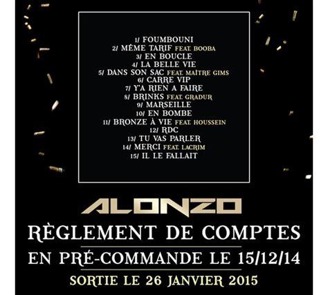 R Up Tracklisting R Tv by Alonzo Pr 233 Sente La Tracklist De 171 R 232 Glement De Comptes