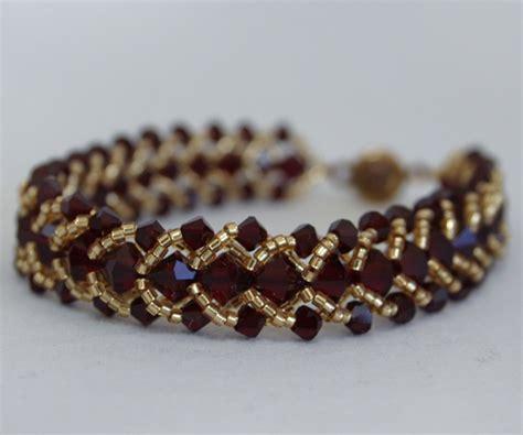 Large Flat Spiral Bracelet Pattern