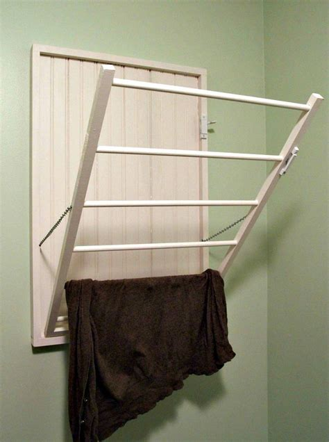 Wall Mounted Drying Rack Diy by Diy Drying Rack For The Wall For The Home