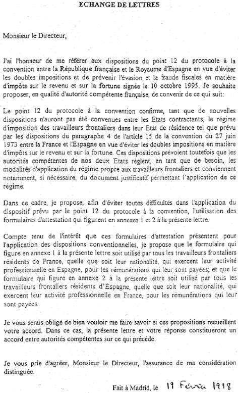 Exemple De Lettre Pour Un Correspondant Français 201 Change De Lettres 1