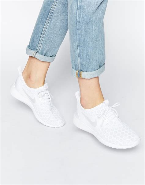nike juvenate white trainers clothes  pinterest