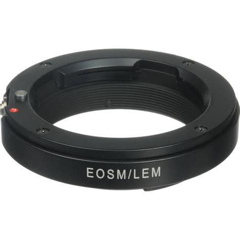 novoflex adapter for leica m mount lens to canon eos m