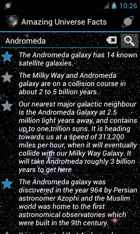 Amazing Facts About Our Universe by Amazing Universe Facts Offline Android Apps On Play