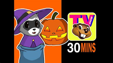 bbtv   halloween special busy beavers tv show baby nursery rhyme television youtube