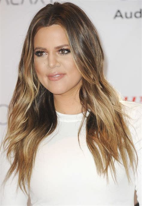khloe kardashians ombre hair expert tips to get the look body wave hairstyles 2013 short hairstyle 2013