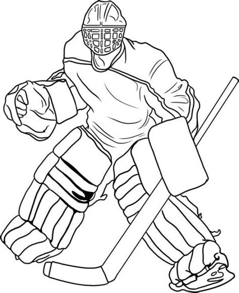 coloring pages of hockey players free pro hockey player coloring pages to print out