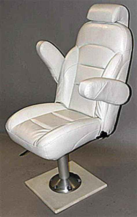 white boat captains chair mk helm seat line