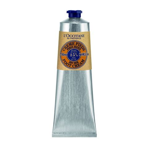 l occitane shea butter foot 150ml feelunique