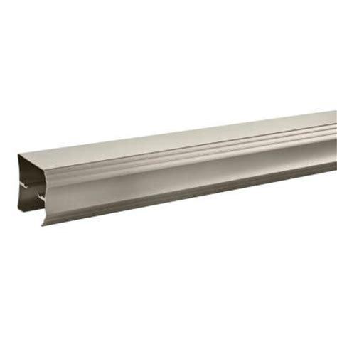 Sliding Shower Door Track 48 In Sliding Shower Door Track Assembly Kit In Nickel