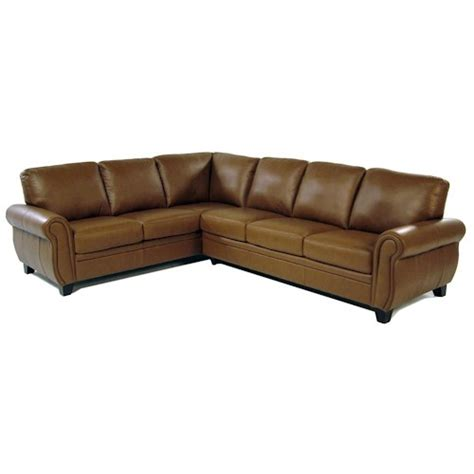 Rotmans Couches by Woodridge 2 Leather Sectional Rotmans Sofa