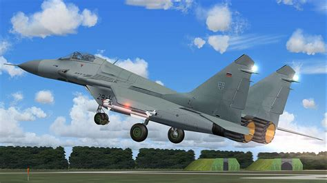 russian air one russian air force mikoyan mig 29 for fsx