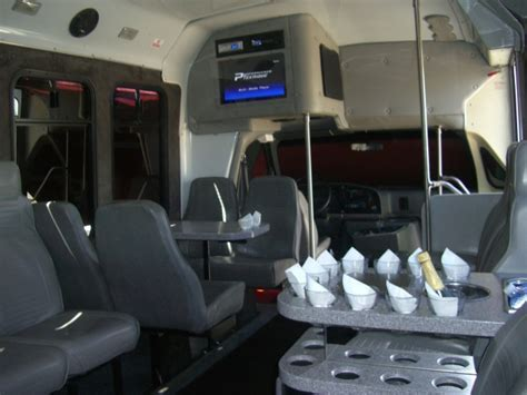 SF 16 Passenger Party Vans   San Francisco Party Bus Rentals