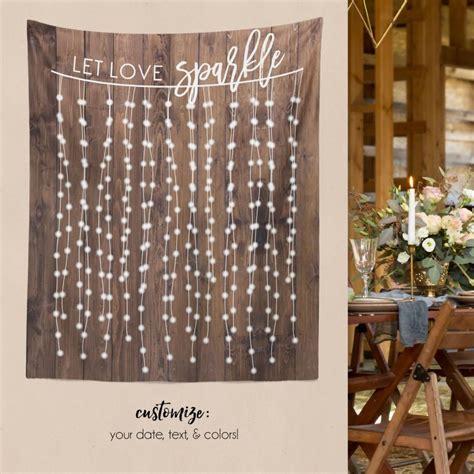 Wedding Banner Wall by Diy Wedding Wall Rustic Wedding Backdrop Custom Tapestry