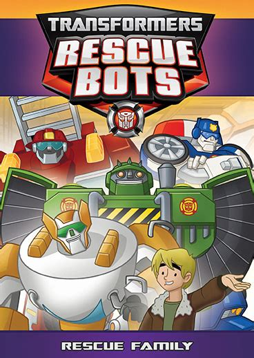 family rescue transformers rescue bots rescue family dvd shout factory