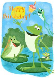 frog birthday toast without butter
