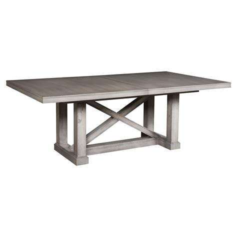 Grey Rustic Dining Table Jimmy Rustic Grey Cedar Wood Adjustable Dining Table Kathy Kuo Home