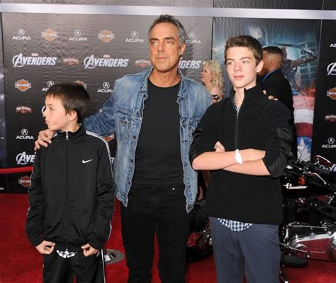 titus welliver family photos titus welliver pictures premiere of marvel studios