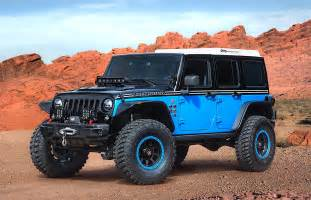 Jeep Jeep Jeep Unveils Several Concept Vehicles For 2017 Moab Easter