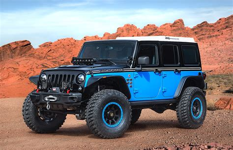In A Jeep Jeep Unveils Several Concept Vehicles For 2017 Moab Easter