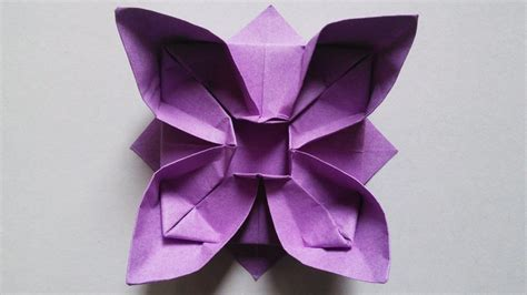 Origami Work - free coloring pages origami paper work lotus flower