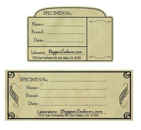 Printable Halloween Specimen Jar Labels   90 best laboratory labels images on pinterest harry