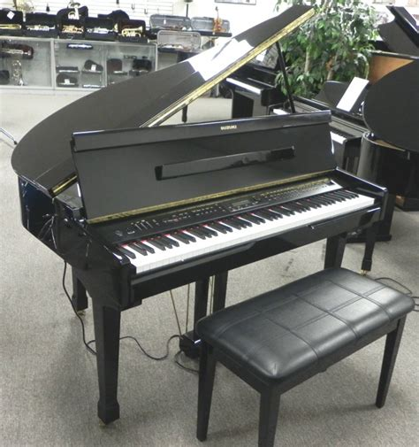 Suzuki Electric Piano Suzuki Digital Baby Grand Piano Ebay