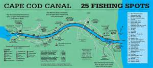 Cape Cod Canal Fishing Spots - cheat sheet for the unique cape cod canal fin and field blog