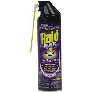raid max bed bug flea killer 17 5 oz