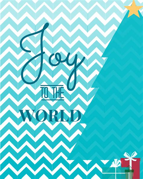 printable joy banner craftionary