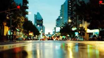 Blue Light Iphone City Lights Wallpaper Hd