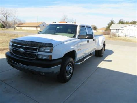 how it works cars 2005 chevrolet silverado 3500 parking system sell used 2005 chevy dually in rose hill kansas united states