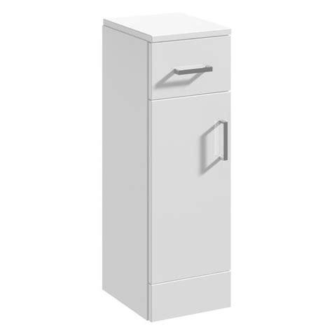 white floor standing l beo 250 x 330mm gloss white floor standing cabinet