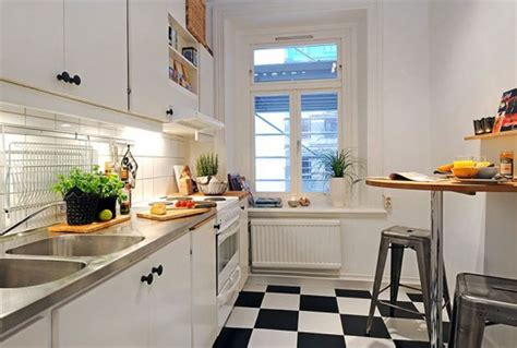 apartment small modern style kitchen studio apartment plans decoration ideas wood ladder