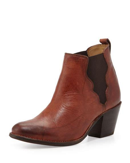 boot and saddle frye jackie ankle boot saddle