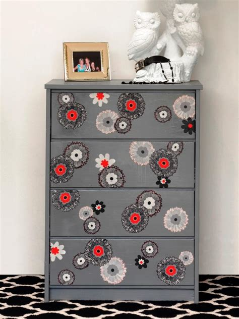 Decoupage Fabric On Wood Furniture - how to update furniture with fabric how tos diy