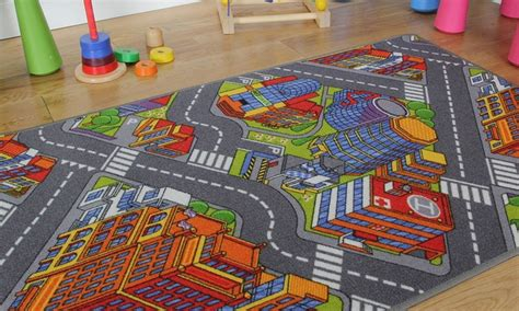 large road rug interactive road rugs groupon