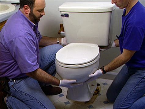 how to install plumbing how to install a new toilet how tos diy