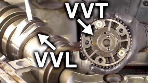 variable valve lift  variable valve timing vvl  vvt youtube
