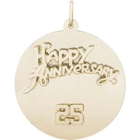 rembrandt anniversary charm gold plated silver precious