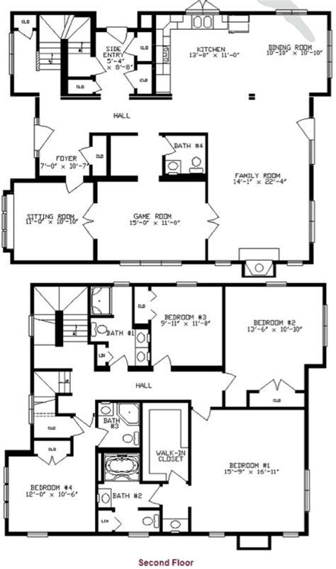 two story mobile home floor plans two story mobile home floor plans gurus floor