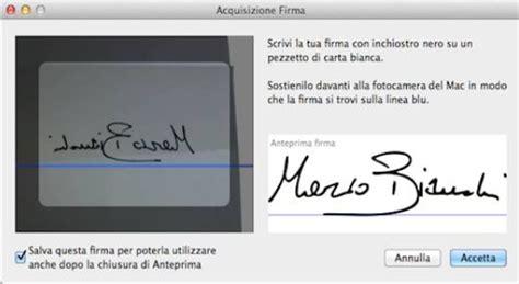 come inserire l immagine della firma autografa sui