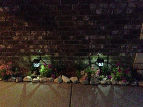 flower bed lights landscape lighting for the flower bed landscaping ideas