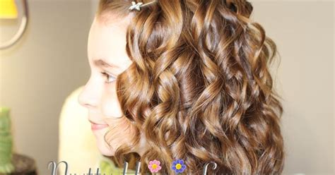 bridesmaid hairstyles useing a curling wand pretty hair is fun com girls hairstyles how to use a
