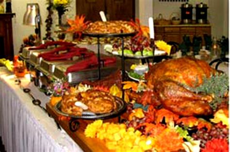 thanksgiving dinner table decoration ideas wonderful buffet table decorations ideas