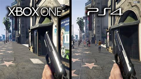 mod gta 5 in xbox one grand theft auto v xbox one vs playstation 4 graphics