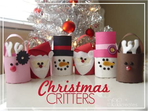christmas crafts with toilet rolls 20 festive diy crafts from toilet paper rolls