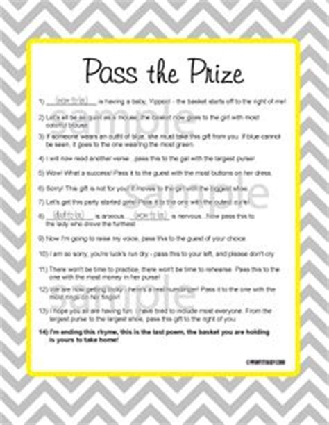 free baby shower trivia game favors decorations and